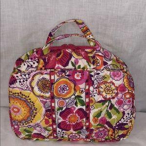 Vera Bradley 11x8x4 pink floral handbag💐